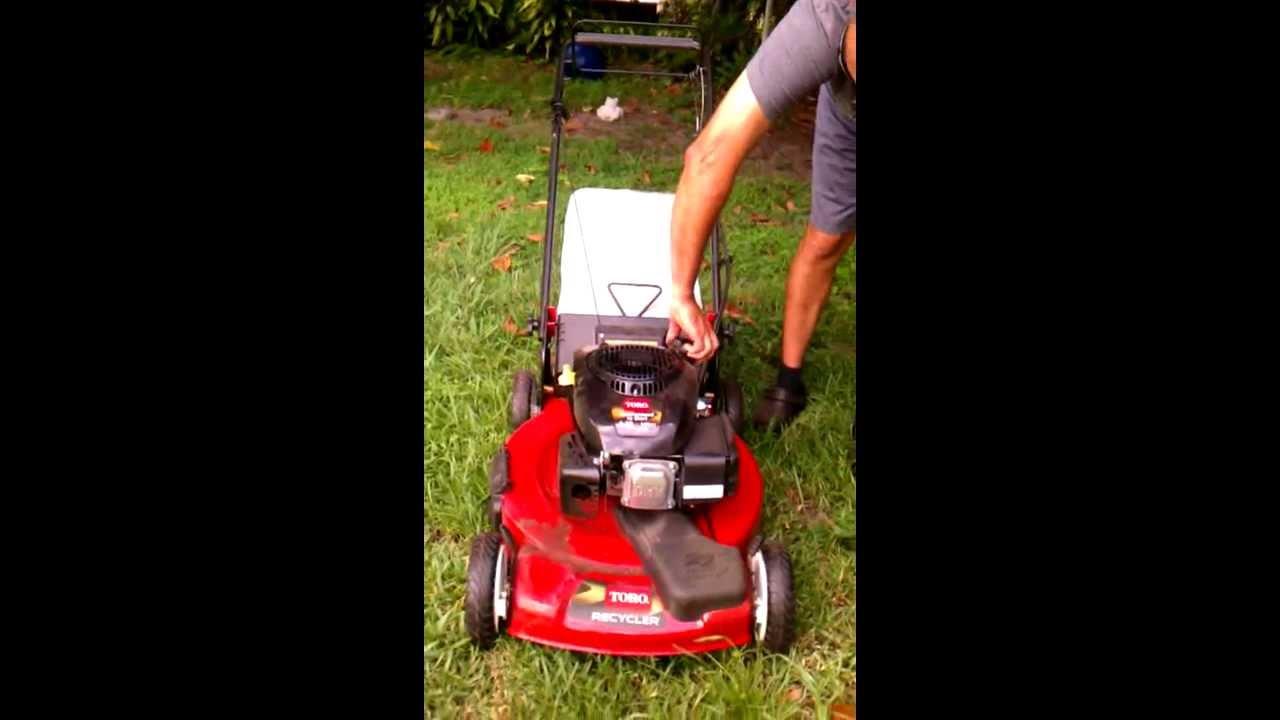 Riding lawn mower won t start - Toro Doesn T Start