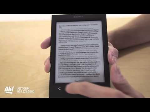 Overview Of The Sony 6-inch E Ink Reader