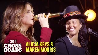 Alicia Keys & Maren Morris Perform 'If I Ain't Got You' | CMT Crossroads