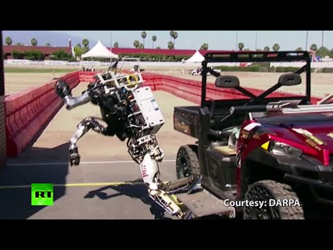 At least they tried: Robot 'epic fails' compilation from DARPA Robotics Challenge