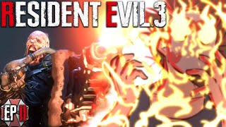 WHAT?!?!? HE HAS A FLAMETHROWER!!!! 🔥 Resident Evil 3 - Ep.2