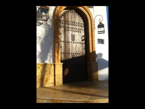 Puertas rusticas de madera las riberas estepa youtube - Puertas rusticas de madera ...