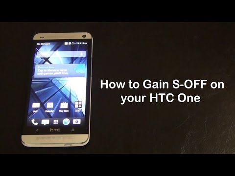 How to Gain S-OFF on your HTC One (All Models)