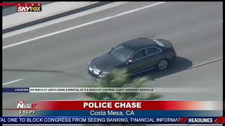FULL COVERAGE: Police Chase Leads to Standoff in Newport Beach, CA