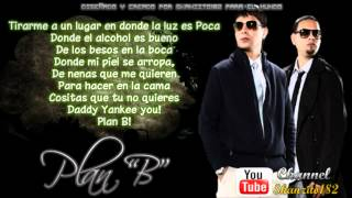 Llevo Tras De Ti [Con Letra] - Plan B Ft. Daddy Yankee (Original) Letra / Lyrics
