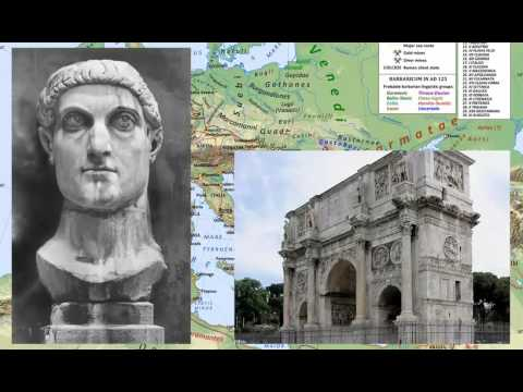 Roman History 27 - Constantine The Great Pt. 1 308-313 AD