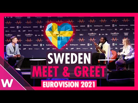 "Sweden Press Conference: Tusse ""Voices"" @ Eurovision 2021"