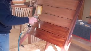 Wood Finishing Techniques With Tom Mclaughlin, The Banquette Project