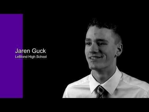 Jaren Guck, Scholar-Athlete Finalist, Bishop LeBlond High School