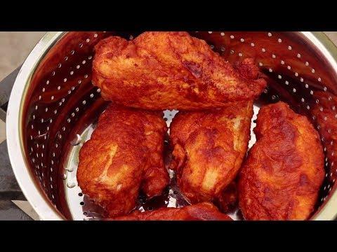 Best Fried Chicken Breast Recipe - Juicy Deep Fried Chicken