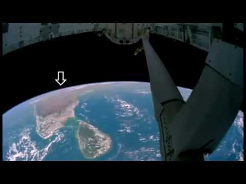 Увидели Ангелов с космоса