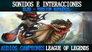 KLED | Voces e Interacciones (ESPAÑOL) | League of Legends