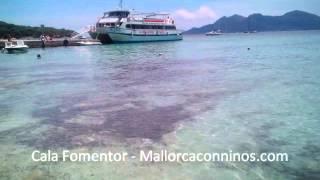 Cala Fomentor - playas con niños en Mallorca.