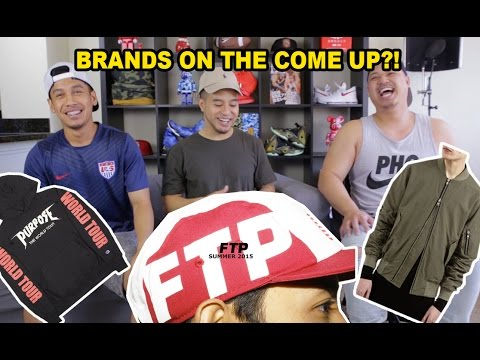 HYPETALK: NEW HOT CLOTHING BRANDS ON THE COME UP?!