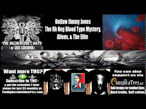 Outlaw Jimmy Jones | The Rh Neg Blood Type Mystery, Aliens, & The Elite