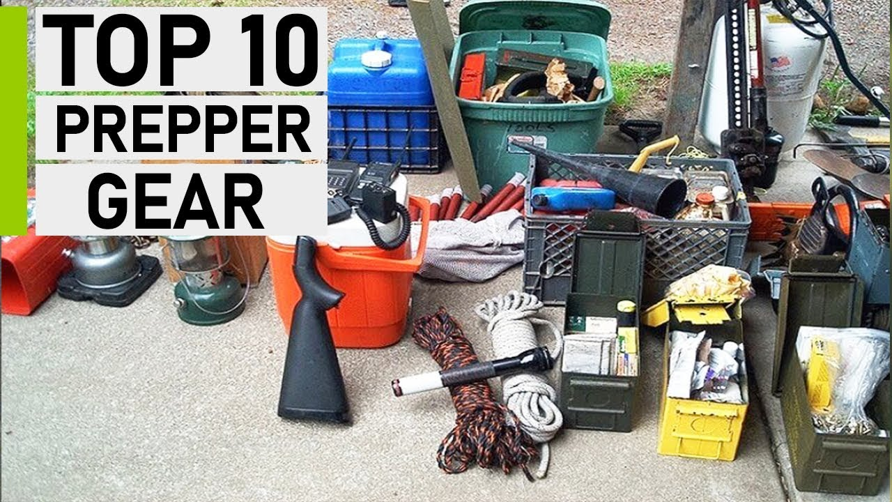 Top 10 Prepping Items You Should Hoard - YouTube