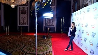 New York City Red Carpet Photo Booth with onsite print and social media upload