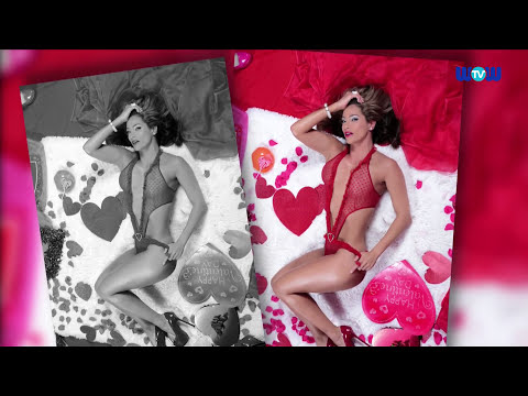 Jennifer Nicole Lee Strips Down For Valentines Day