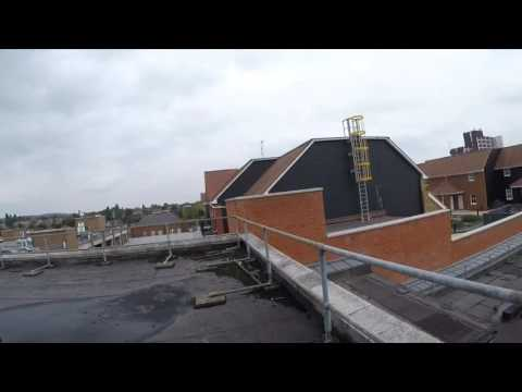 looking around the former TJ Hughes And C&A building in Romford