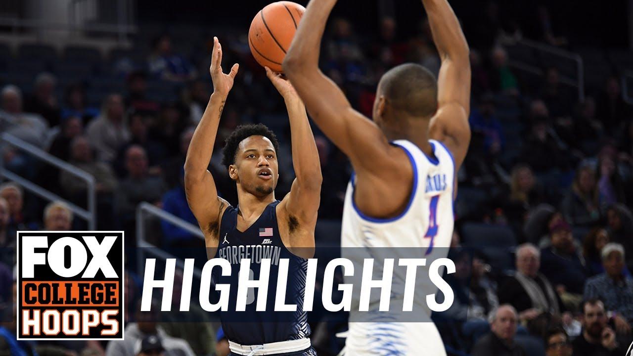 Georgetown vs DePaul | Highlights | FOX COLLEGE HOOPS