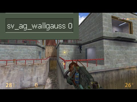 AG - Playing 1v1 crossfire without wallgauss