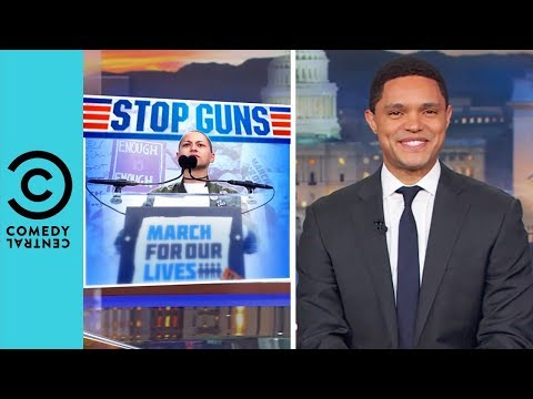 The March Of A Million Teenagers | The Daily Show With Trevor Noah