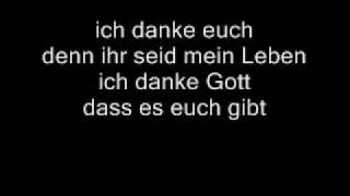 LaFee - Danke (full lyrics)