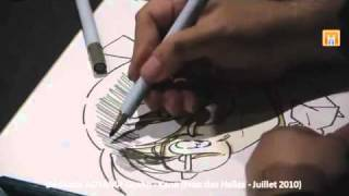 Gosho Aoyama Drawing Detective Conan