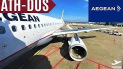 FULL FLIGHT DURING CORONA PANDEMIC !? | AEGEAN AIRLINES | ATHENS-DÜSSELDORF | A320 | TRIPREPORT 4K