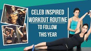 Deepika Padukone Kareena Kapoor Khan Katrina Kaif inspired workout regime for the new year 2018