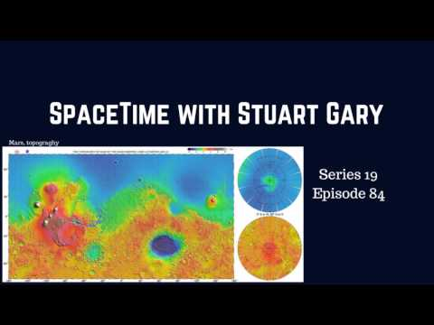 Massive frozen water deposits found on Mars - SpaceTime with Stuart Gary S19E84