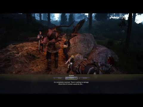 Black Desert Online - Steam version - 2017 Gameplay - Part 50 - Ranger - Moving Trees