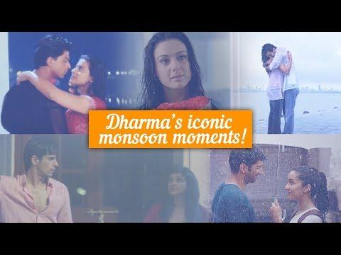 Dharma's Iconic Monsoon Moments   SRK   Kajol   Ranbir   Sidharth   Parineeti
