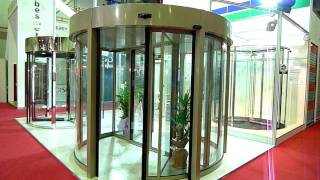 [TRONCO] Automatic 2-Wing Revolving door (旋轉自動門)