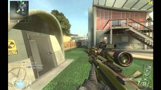 Black Ops 2 pc Gameplay Including Quickscope