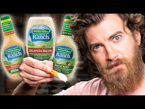 Weird Ranch Dressing Flavor Taste Test