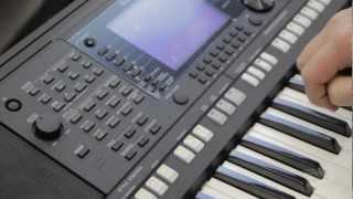 Yamaha PSRS750 Demo