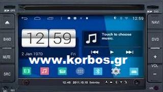 Nissan Android oem multimedia S160-M001 www.korbos.gr
