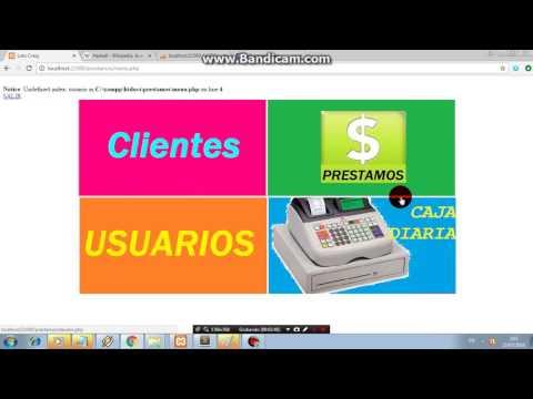 SISTEMA DE PRESTAMOS Y COBROS EN LINEA de YouTube · Alta definición · Duración:  5 minutos 4 segundos  · Más de 1000 vistas · cargado el 27/07/2016 · cargado por Charls lee ray