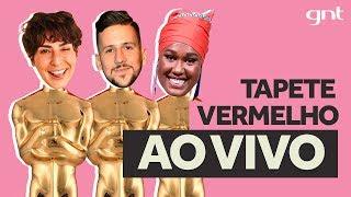 🔴 AO VIVO: Tapete Vermelho da maior premiação do cinema com Caio Braz, Fe Paes Leme e Luana Xavier