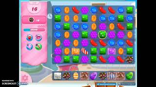 Candy Crush Level 519 Audio Talkthrough, 3 Stars 0 Boosters