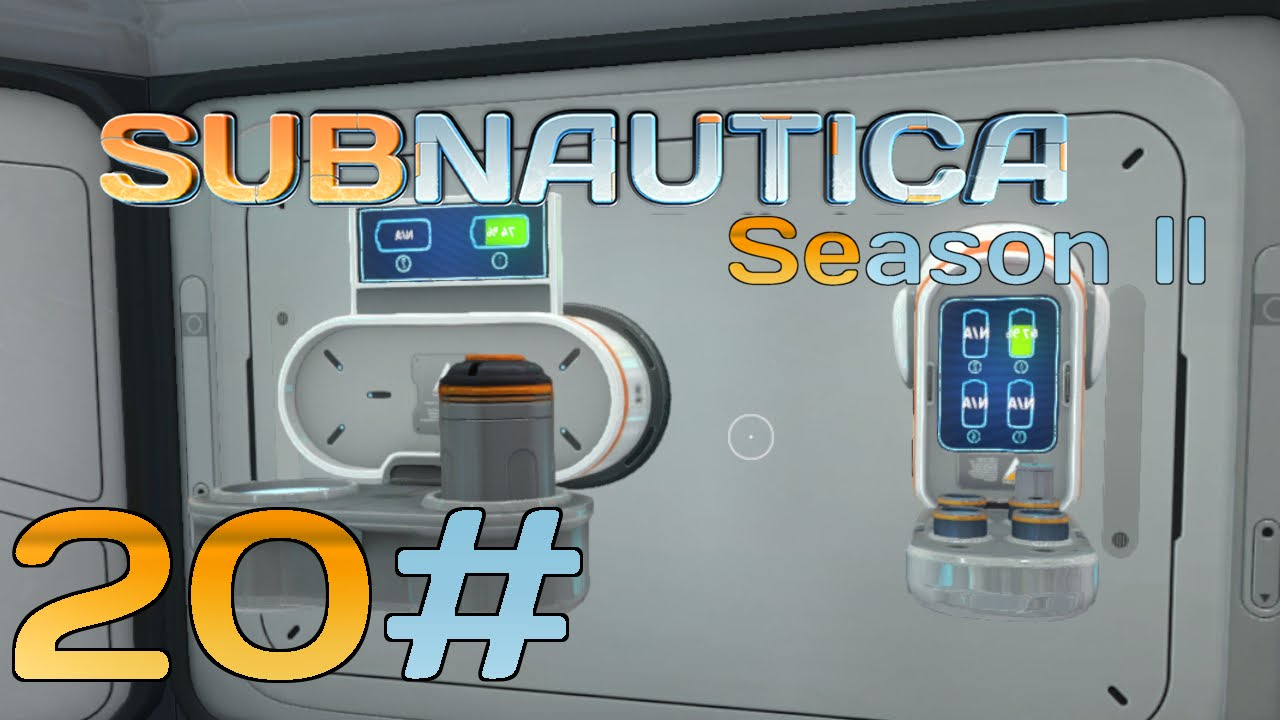 Subnautica Need That Battery And Power Cell Charter Part 20 Let S Play Gameplay Youtube