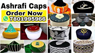 New Caps l Barkati Topi l Pakistani Topi ll Razvi Topi ll omani Topi ll Kids Topi AshrafiCaps