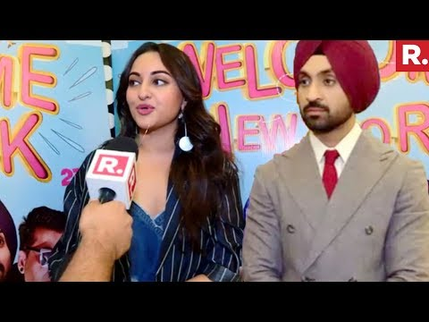 Sonakshi Sinha And Diljit Dosanjh - Welcome To New York | Exclusive Interview