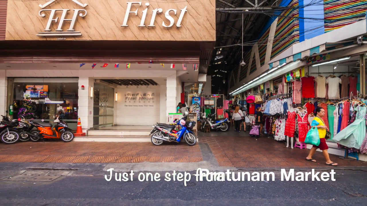 First House Bangkok Pratunam Hotel Location Presentation