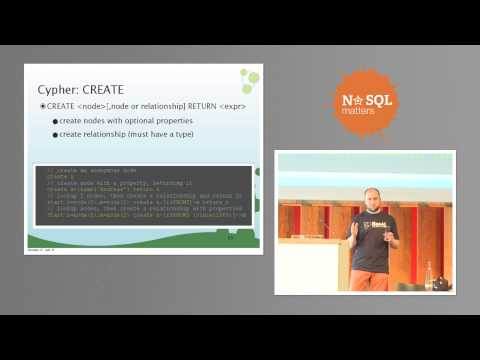 Cypher Query and language and Neo4j by Michael Hunger