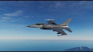 Turkish F-16C Low Level SEAD Mission Into Syria