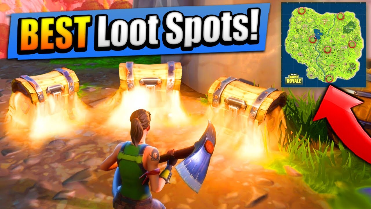 Top 6 Best Loot Spots Where To Find Them Fortnite