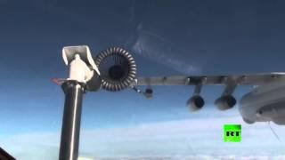 تزويد الطائرات الحربية الروسية بالوقود جوا