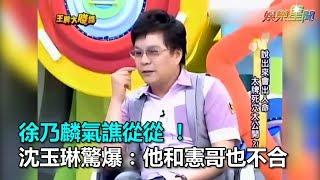 徐乃麟氣譙從從 !沈玉琳驚爆:他和憲哥也不合|三立新聞網SETN.com